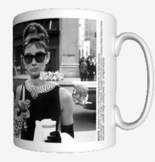 AUDREY HEPBURN (WINDOW) - MUG (11oz) (Brand New In Box)